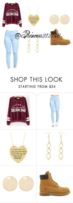 """""""dreamland"""" by princess212146 ❤ liked on Polyvore featuring Alisa Michelle, Auden and Timberland"""