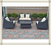 Stacking Rattan garden sofa set (S5125)