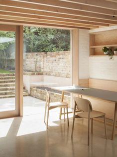 Riversdale Road by O'Sullivan Skoufoglou Architects, London Interior Exterior, Interior Architecture, Ancient Architecture, Sustainable Architecture, Landscape Architecture, Dark Timber Flooring, Architects London, Victorian Terrace House, Black And White Living Room