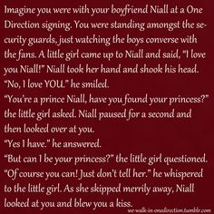 Imagine~Niall