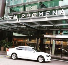 The Crown Promenade Melbourne - we can get you there in our range of black and white vehicles. Give us a call on 1300 012 013. Black Fleet Chauffeured Cars, Melbourne's best chauffeured car services. Visit our website at www.blackfleet.com.au or email us at enquiries@blackfleet.com.au! ‪#‎crownpromenademelbourne‬ ‪#‎luxuryvehicles‬ ‪#‎melbournechauffeurs‬ ‪#‎melbournechauffeurservice‬ ‪#‎crowncasinomelbourne‬