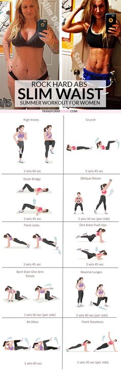 #womensworkout #workout #femalefitness Repin and share if this workout gave you rock hard abs! Click the pin for the full workout.