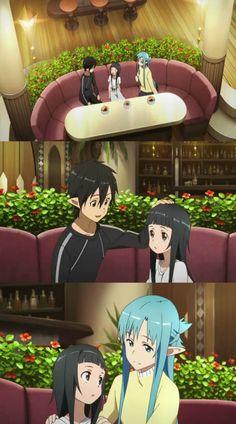 Kirito, Yui & Asuna