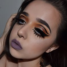 """""""i want to wear this look every day of my life"""" Circus Makeup, Kenya, Septum Ring, Halloween Face Makeup, Cosmetics, Instagram Posts, Rings, Twitter, Jewelry"""