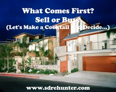 ✔️ [Blog Post] What Comes First - Sell or Buy (Let's Make a Cocktail and Decide...)