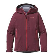 Patagonia Womens Refugitive Jacket. Oxblood Red