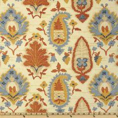 Covington Medina Cabana Blue - Discount Designer Fabric - Fabric.com