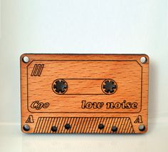 Laser cut wooden old-style tape