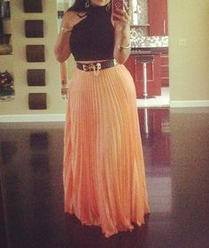 Google Image Result for http://realitytvfashion.com/wp-content/uploads/2012/07/Emily-Bs-Orange-Pleated-Maxi-Skirt-Black-Turleneck.jpg