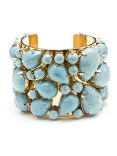 Elegant blue stone bracelet