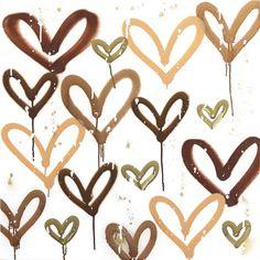 Heart Painting, Diy Painting, Heart Artwork, Colors And Emotions, Heart Wallpaper, Affordable Art, Art Fair, Contemporary Paintings, Buy Art