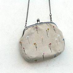 S bylinkami / ololo - SAShE. Coin Purse, Embroidery, Wallet, Purses, Handmade, Needlework, Pocket Wallet, Handbags, Needlepoint