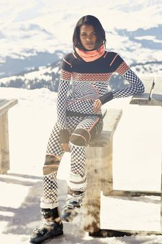 Check out Sweaty Betty's ski fashion update: the best of base layers (because getting fit doesn't just happen in the gym!).