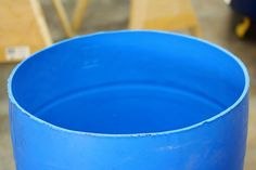 Stylish and Low Cost 55 Gallon Drum Planters : 15 Steps (with Pictures) - Instructables Plastic Barrel Planter, Plastic Pots, Planter Boxes, Wooden Planters, Outdoor Planters, Concrete Planters, Meyer Lemon Tree, 55 Gallon Drum, Fruit Trees
