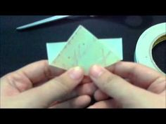 Kusudama Paper Flower Tutorial - YouTube