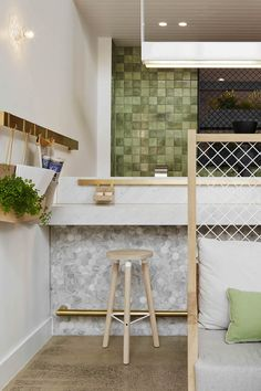 Café moves elegantly between contemporary atrium and characterful period piece...