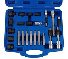 Lichtmaschine Arretier-Werkzeug 24-tlg Freilauf Generator Abzieher Riemenscheibe - http://autowerkzeugekaufen.de/bergen/lichtmaschine-arretier-werkzeug-24-tlg-freilauf