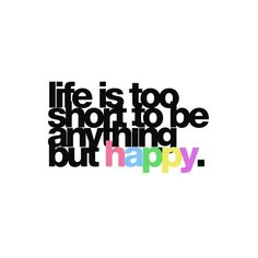 Simple but true.