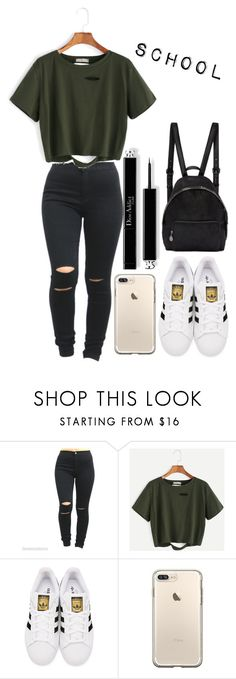 """School #4"" by amirah-lockett ❤ liked on Polyvore featuring adidas Originals and STELLA McCARTNEY"