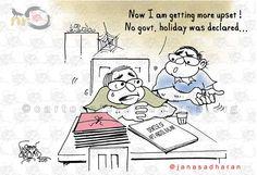 Pseudo Mourning | Cartoonist Nituparna Rajbongshi