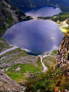 Morskie Oko i Czarny Staw, Tatry Mountains - Poland  (lakes in the mountains)