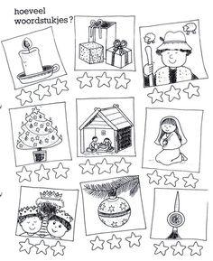 Werkblad auditief: kerst