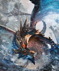 ドラゴン_氷