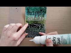 Made by Sannie: Road Trip Birthday card with video tutorial