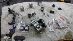 Yamaha XTZ 750 Super Tenere rear caliper rework