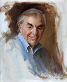 Portrait Study of Everett Raymond Kinstler by Michael Shane Neal. This is the Everett I know and love.