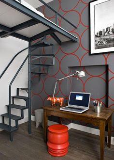 Chambre bebe orange et gris ~ Design de maison