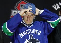 Rookie Canucks forward Bo Horvat will not travel to Ontario for the 2015 IIHF WJC, as he has proved too important to hisNHL team. Bo Horvat, Pro Hockey, Hockey World, Vancouver Canucks, Writer, Career, Anaheim Ducks, Positivity, Thursday Night