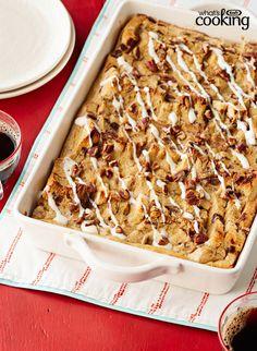 "Make Ahead ""Cinnamon Bun"" Casserole #recipe"