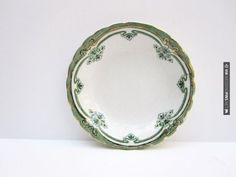 Awesome! - Vintage Green Plate | CHECK OUT MORE GREAT VINTAGE WEDDING IDEAS AT WEDDINGPINS.NET | #weddings #vintagewedding #weddingvintage #oldweddingphotos #events #forweddings #iloveweddings #romance #vintage #planners #old #ceremonyphotos #weddingphotos #weddingpictures