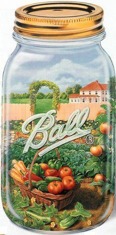 Ball Jar Ad