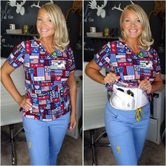 Concealed Carry For Nurses and Caregivers – Dene Adams Concealed Carry Women, Concealed Carry Holsters, Outer Thighs, Kydex Holster, Pistols, Nurses, Carry On, Christmas Sweaters, Woods