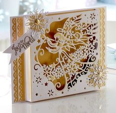 Create a Card Christmas 6x6 dies 2015 - Crafter's Companion Portfolio