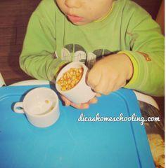 DICAS Homeschooling: Coordenação Motora Fina: Transferência de líquidos...