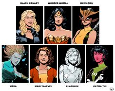 Gallery For > Female Justice League Characters