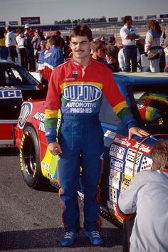 "Jeff""s Top 24 NASCAR Moments!! 1992: Jeff's first and Richard Petty's last! Atlanta finale. A race that will always live in infinity. If you are a NASCAR fan you know the history and the loss of 1993."