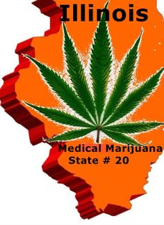 ILLINOIS   Illinois became the 20th state to legalize medical marijuana this morning when Gov. Quinn signed House Bill 1 into law.  08/01/2013