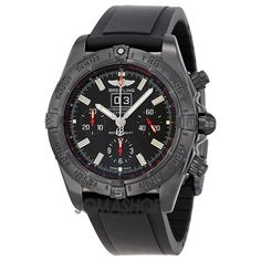 Breitling Windrider Blackbird Automatic Chronograph Mens Watch M4435911-BA27BKPD