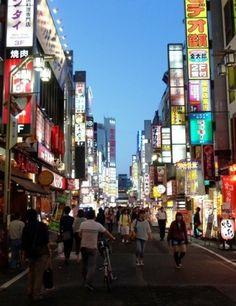 #Shinjuku  #Japon