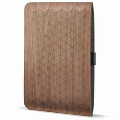 Walnut iPad Sleeve
