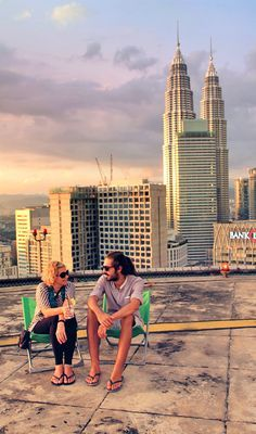 Helipad Lounge Bar | Kuala Lumpur In 24 Hours - 5 Things To Do In One Day In Malaysia's Capital | City Travel Guide | via @Just1WayTicket