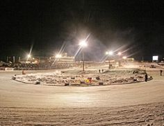 Snowmobile enthusiasts rejoice! The Amsoil World Championship Snowmobile Derby races each winter.