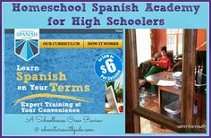 Homeschool Spanish Academy (A Schoolhouse Crew Review)