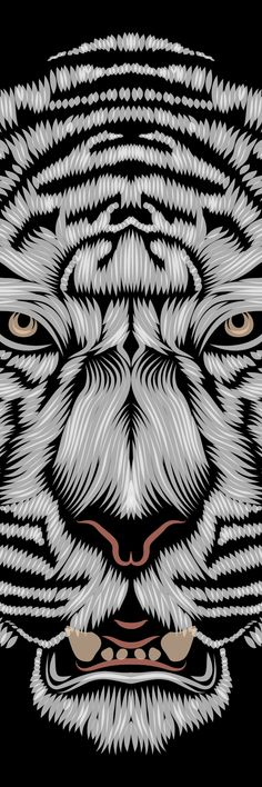 31fb3d97b 18 Best geometric tiger images in 2015 | Tiger Tattoo, Drawings ...
