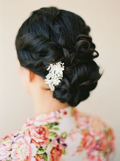 Wedding hairstyle idea; Featured Photographer: Leah Watson Photography