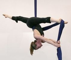My hobby :D I absolutely love the feeling of freedom and the acrobatics. Plus it is the best way to exercise! Aerial silks.